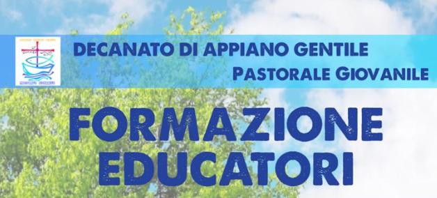 Formazione educatori Gennaio 2020